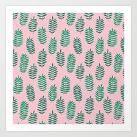 Pattern Project #42 / Fe… Art Print