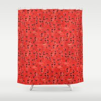 Watermelon Pattern Shower Curtain