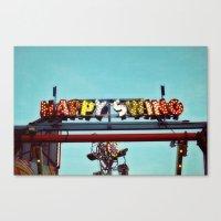 Happy Swing Canvas Print