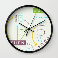Haikuglyphics - Haikanics Wall Clock