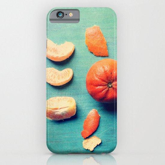 Orange Wedge iPhone & iPod Case