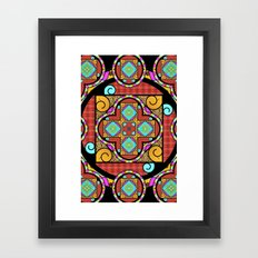 Best Blanket Mandala Framed Art Print