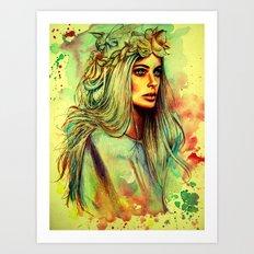 Indio Art Print