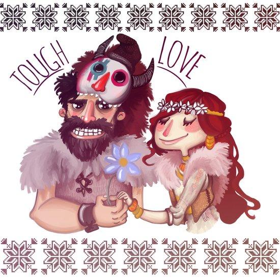 Tough Love Art Print