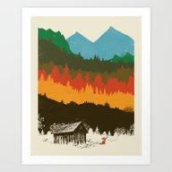 Art Print featuring Hunting Season by Dan Elijah G. Fajard…
