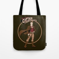 Captain Tightpants Tote Bag
