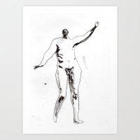 Victorian Nude Male Art Print