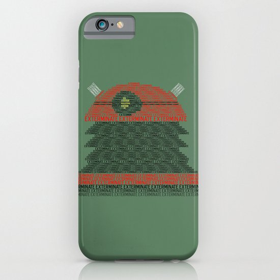 Exterminate (Doctor Who) iPhone & iPod Case