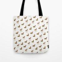 Deer Print Tote Bag