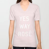 Yes Way Rosé Unisex V-Neck