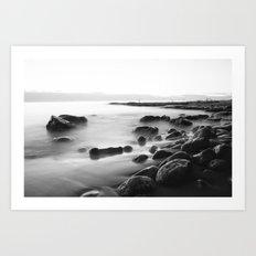Whisper Rocks Art Print