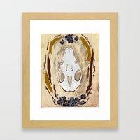 Cycle (Hedgehogs & Flowe… Framed Art Print