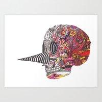 Skull 112415 Art Print