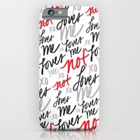 iPhone & iPod Case featuring Loves Me... by Nett Designs