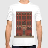 Williamsburg Mens Fitted Tee White SMALL