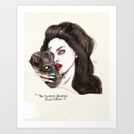 "Lana ""The Saddest,badd… Art Print"