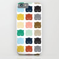 iPhone & iPod Case featuring Bears, Bears, Bears by Steph Dillon