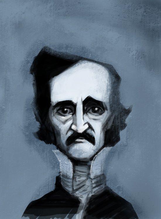 Mr. Alan Poe Canvas Print