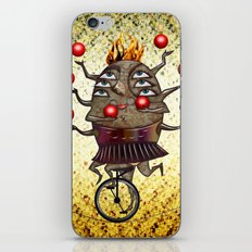 Equilibrist iPhone & iPod Skin