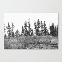 The Dancing Woods Canvas Print