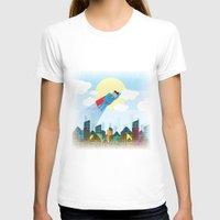 superman T-shirts featuring SUPERMAN by voskovski