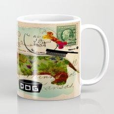 Greetings from the Dachshound Mug