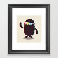 MONSTER 3d Framed Art Print