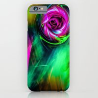 iPhone Cases featuring Wellness sunrise  by Walter Zettl
