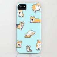 Corgi iPhone (5, 5s) Slim Case