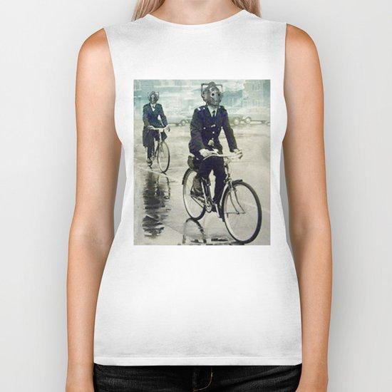Cybermen on bikes Biker Tank