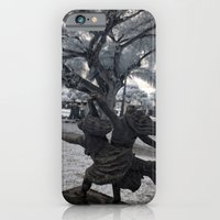 iPhone & iPod Case featuring The Last Dance by Cemetery Prints Inc.