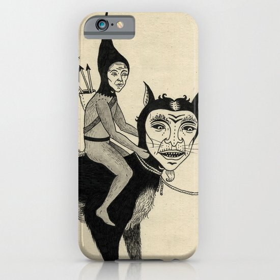 The Capture of the Beast iPhone & iPod Case