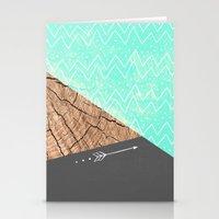 color-block v.1 Stationery Cards