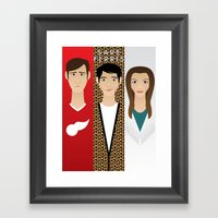 Save Ferris Framed Art Print