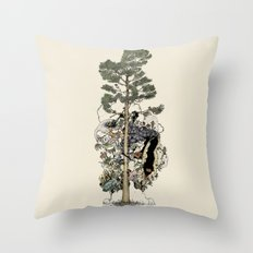 Everdream Pine Throw Pillow