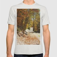 The First Snow Mens Fitted Tee Silver SMALL