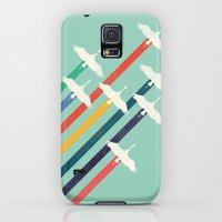 Galaxy S5 Cases featuring The Cranes by Budi Kwan
