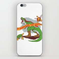 When Dinosaurs ruled the earth iPhone & iPod Skin