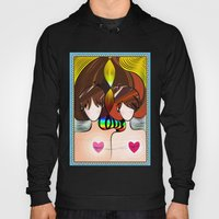 Love Rainbow And Hearts Hoody
