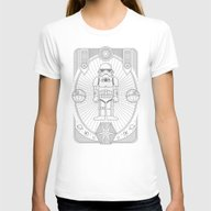 Stormtrooper Jam Womens Fitted Tee White X-LARGE