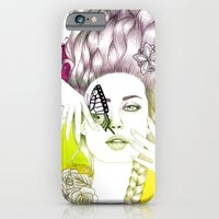 Butterfly Lady iPhone 6 Slim Case
