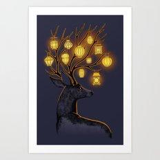 Dream Guide Art Print