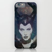 iPhone & iPod Case featuring Maleficent by Esco