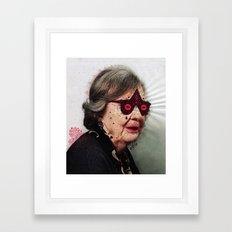 G r a n n y  Framed Art Print