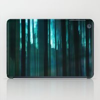 Forest in emerald green iPad Case