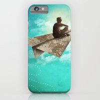 iPhone & iPod Case featuring Paper Aeroplane by dan elijah g. fajardo