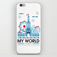 My World iPhone & iPod Skin