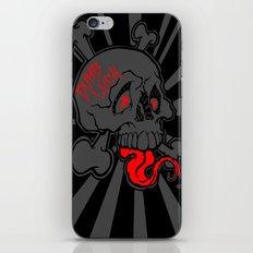 Shanghai Skull Blackout iPhone & iPod Skin