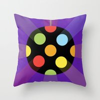 DISCOBALL Throw Pillow