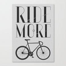 RIDE MORE BIKE_ Canvas Print